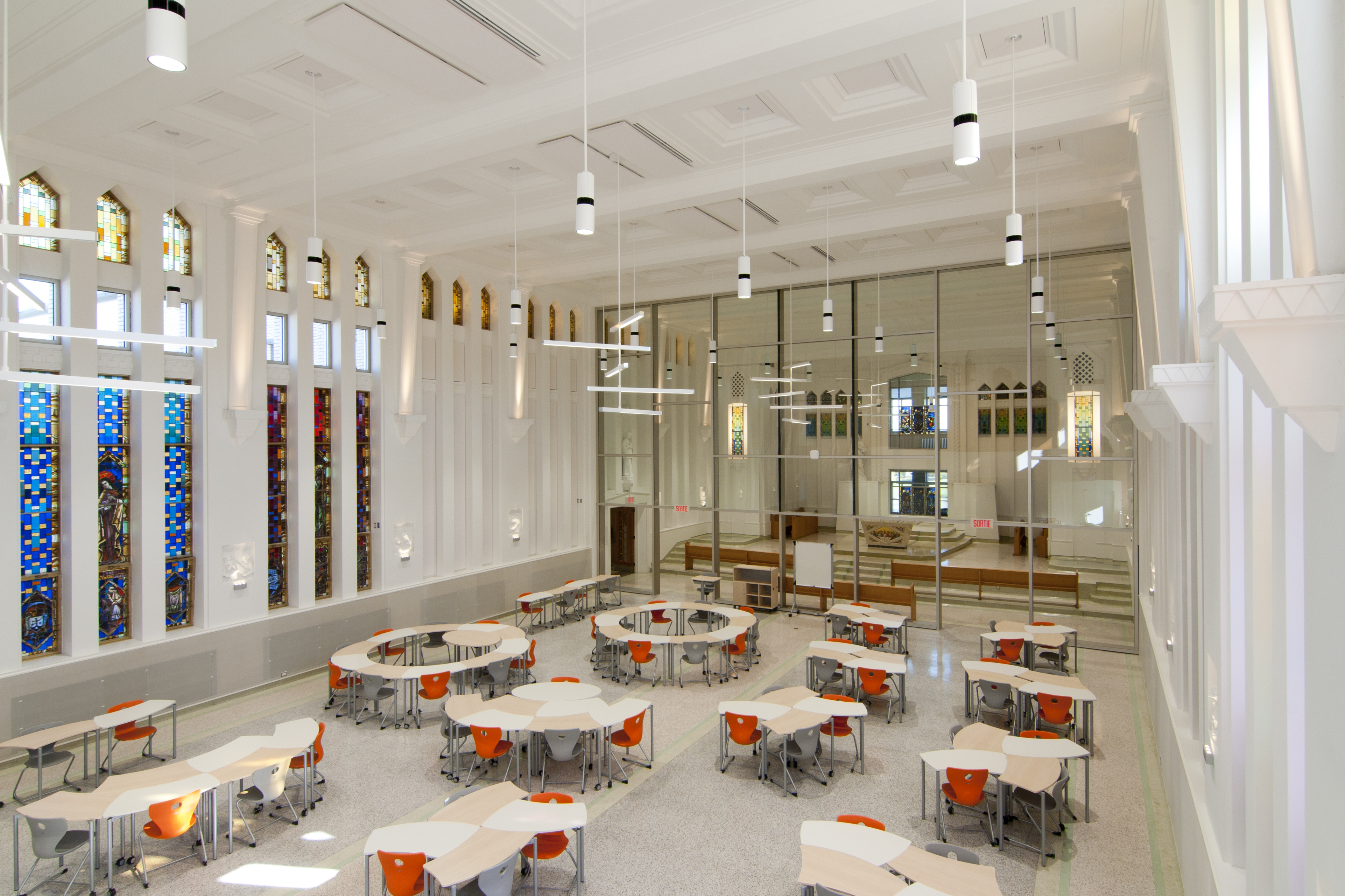 Chapel Transformated into Active Learning Environment