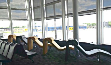 Montréal Trudeau Airport – International Lounge Seating