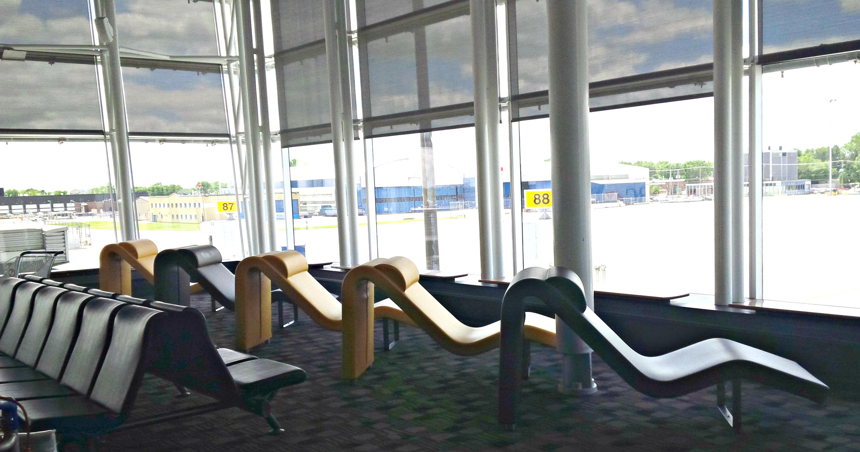 Montréal Trudeau Airport – International Lounge Concourse