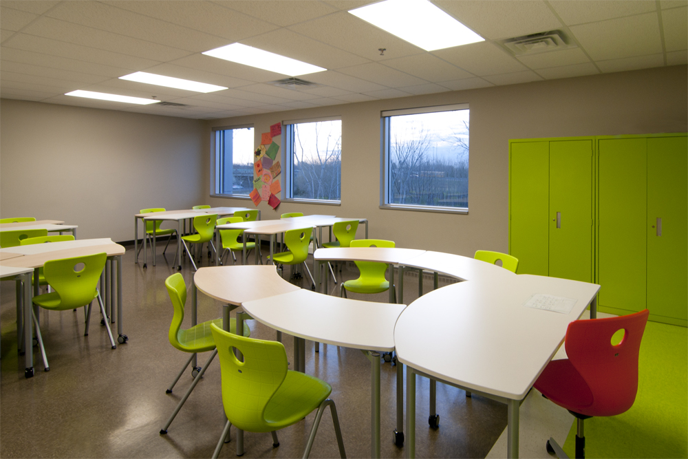 Collaborative In The Classroom ~ Collège citoyen salle de classe aquest design
