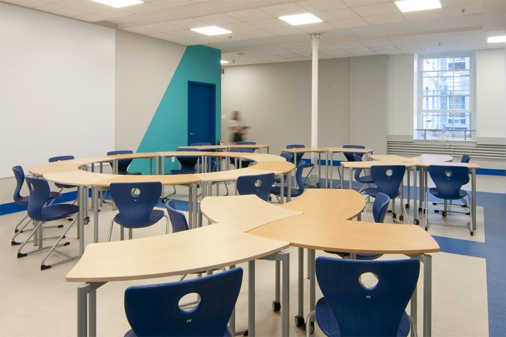 Collge De Montral Montreal Flexible Shift Classroom