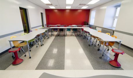 Sainte-Anne International College – Montreal – Flexible classroom