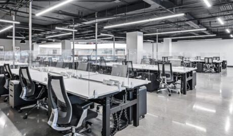 Solutions COVID-19 pour les postes de travail ouverts