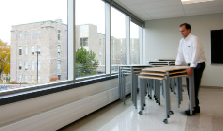 Mont-Saint-Louis College – Active Learning in a Flexible Space