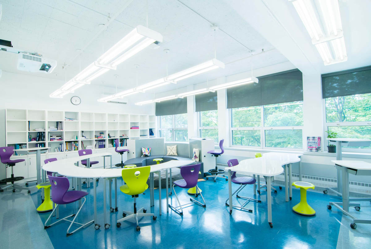 Achieving Flexibility in a 439 Square Foot Classroom