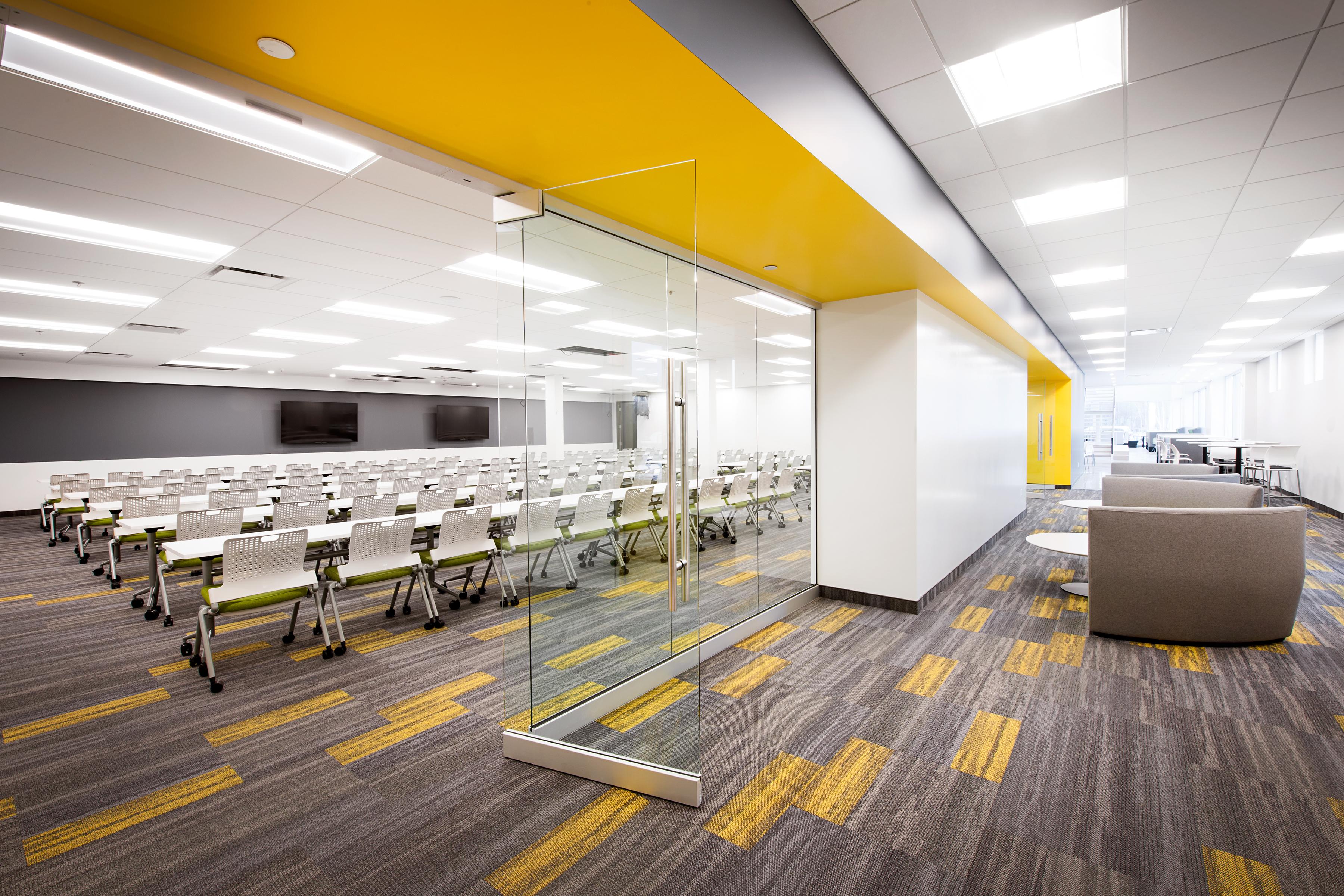 Notre formule pour le design et construction des espaces de bureau